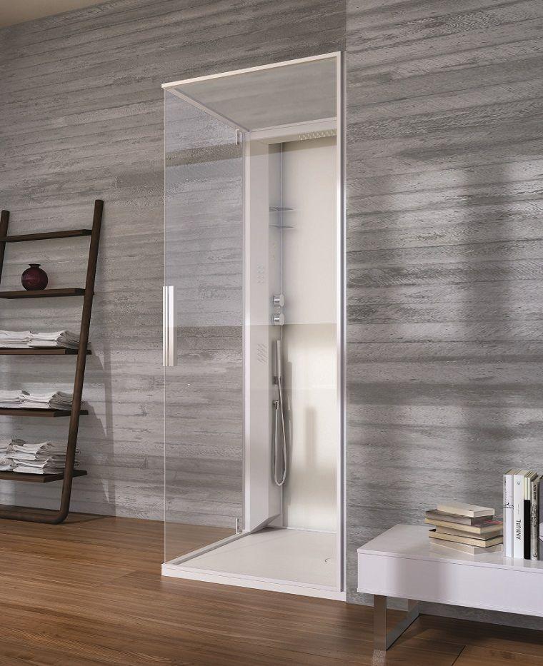 Dise o de ba os en color gris 50 ideas inspiradoras ba o - Banos vintage modernos ...