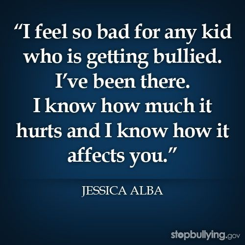 Famous Bullying Quotes: (originally Pinned By Haley) * Bullying Quotes