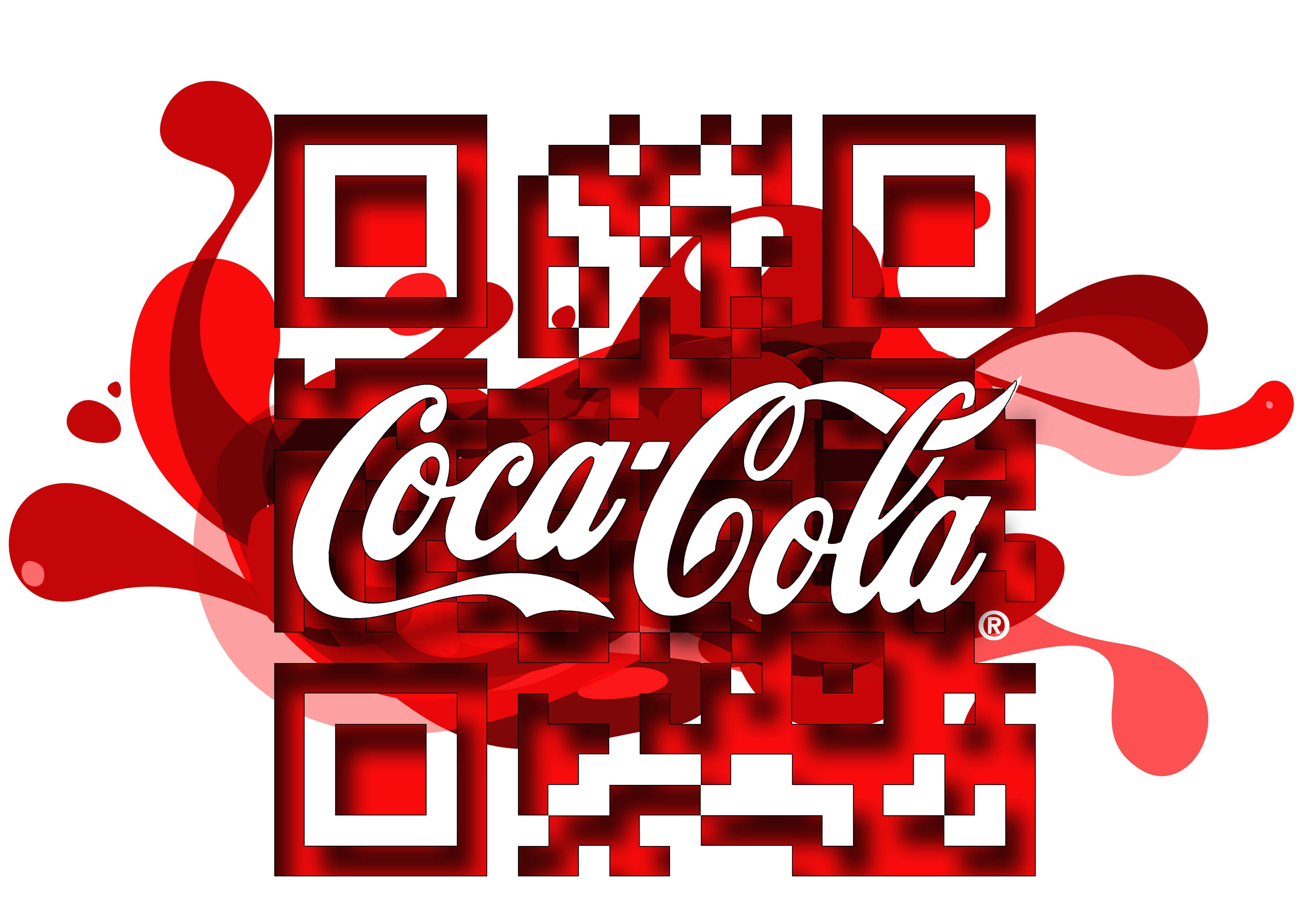 Customised Coca Cola Qr Code