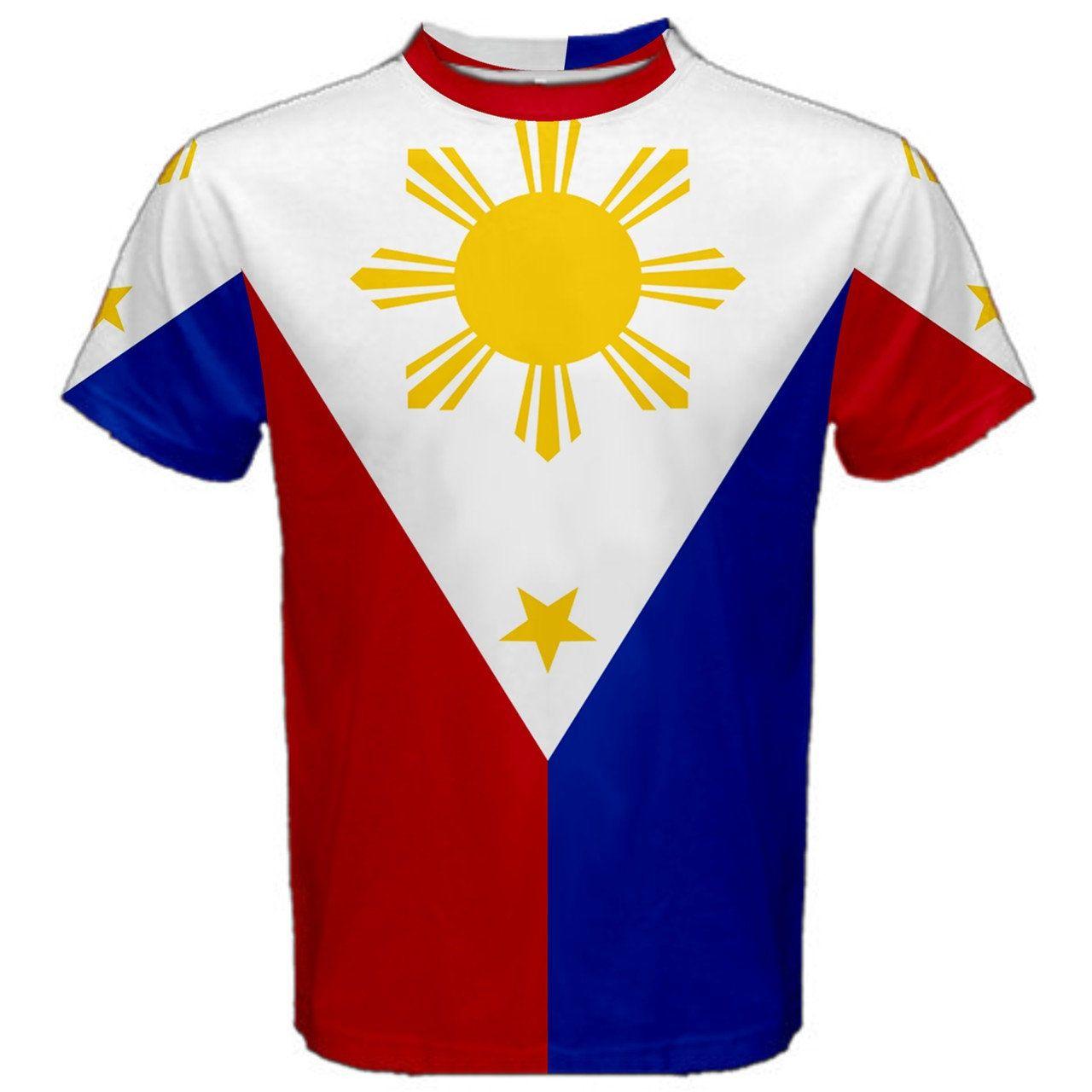 New Philippines Filipino Flag Sublimated Men S Sport Full Etsy Filipino Flag Mesh T Shirt Philippine Flag [ 1280 x 1280 Pixel ]