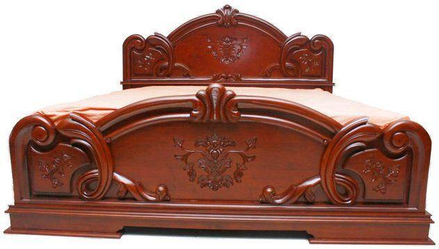 Beli Tempat Tidur Selir Desain Bed Mewah Carving Desain Tempat