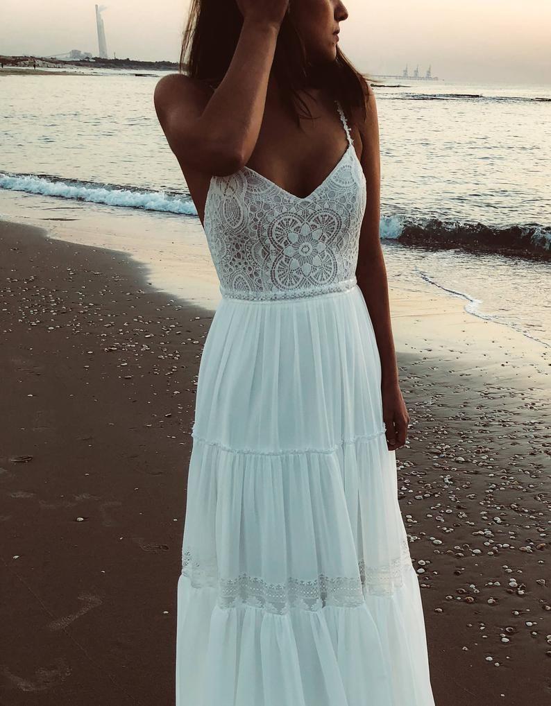 Boho Wedding Gown Inspirational Beach Wedding dress