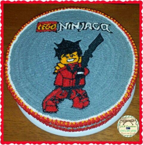 Cake of Lego Ninjago made by J&R Creation ( Jessica Vargas) (787)217-2735 Cary, NC #CAKE #NORTHCAROLINA #CARY