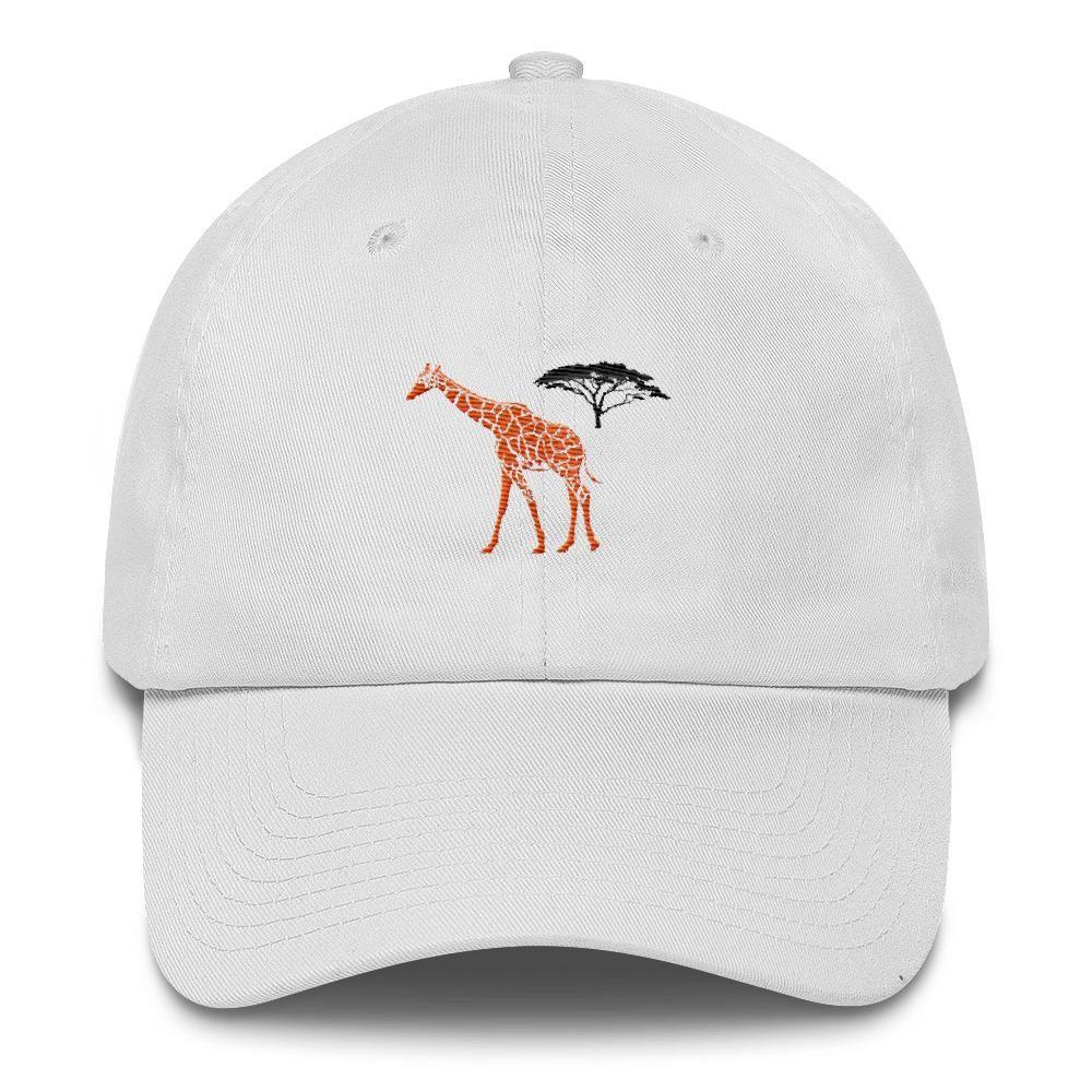 Home Fashion DIY Elephant Dad Hat Embroidered Cotton Baseball Hat Adjustable Baseball Cap