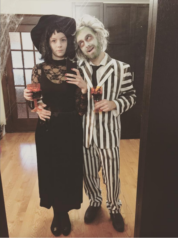 And This Gloriously Gothic Beetlejuice And Lydia Deetz Princess Halloween Costume Halloween Costumes Kids Costumes Girls