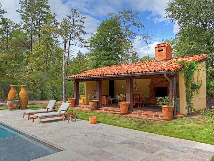 Open front with closed back part Projetos de casas