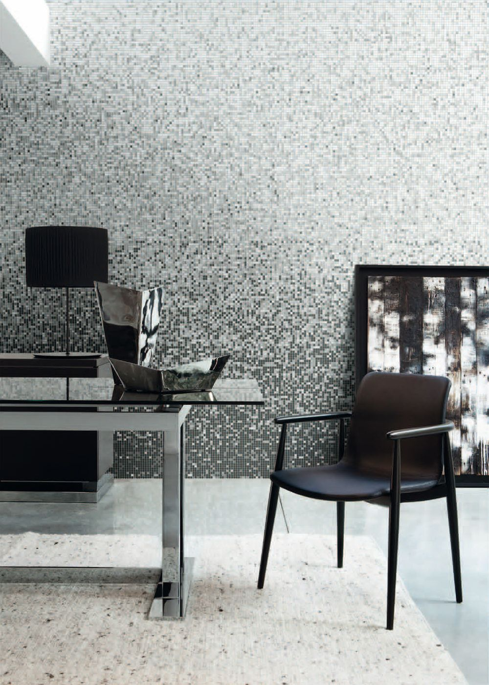 Bisazza Shading Blend GELSOMINO, using a selection of 10mm mosaic ...
