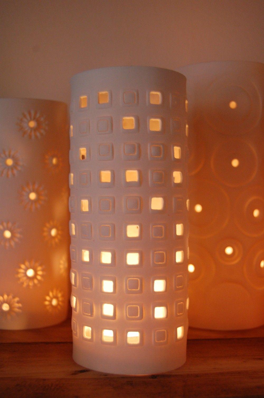 Meryl Till - Windows porcelain candle cover