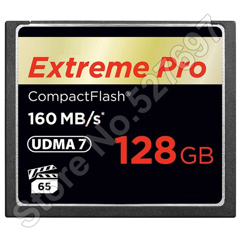 Brand Extreme PRO 1067x 128GB CF Card 64GB 32GB UDMA 7 CompactFlash Memory Card For Canon Nikon Digital SLR Camera Camcorder DV