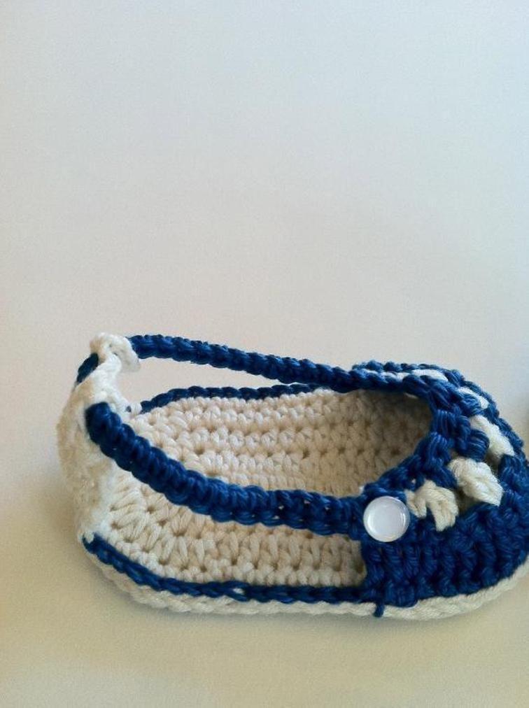 Nautical Sandals and Headband PDF 12-029   crochê   Pinterest   Bebe