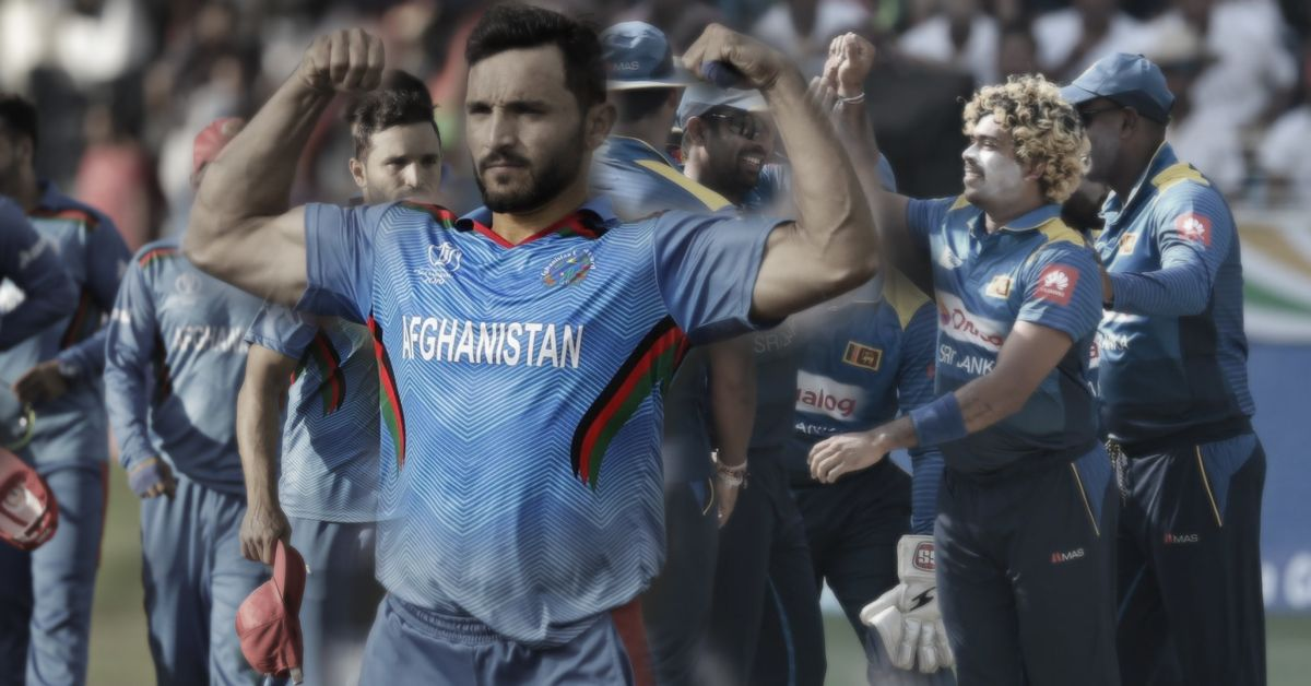 Afghanistan Ready To Knock Down Former Champions Sri Lanka At Cwc 2019 Afghanistan Champion Sri Lanka