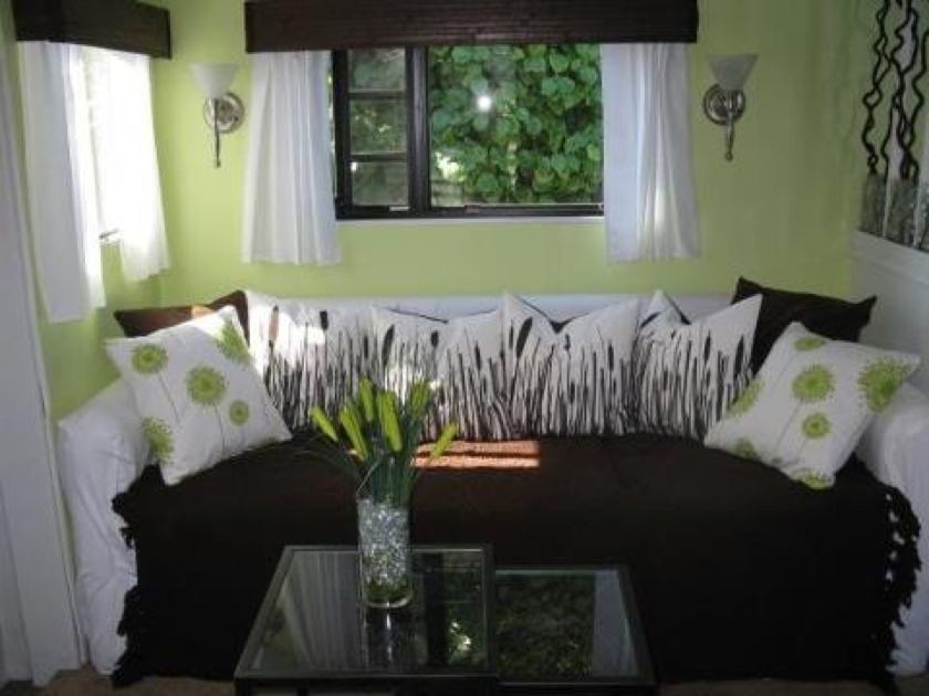 best 25 small camper interior ideas on pinterest camper interior small camper vans and. Black Bedroom Furniture Sets. Home Design Ideas