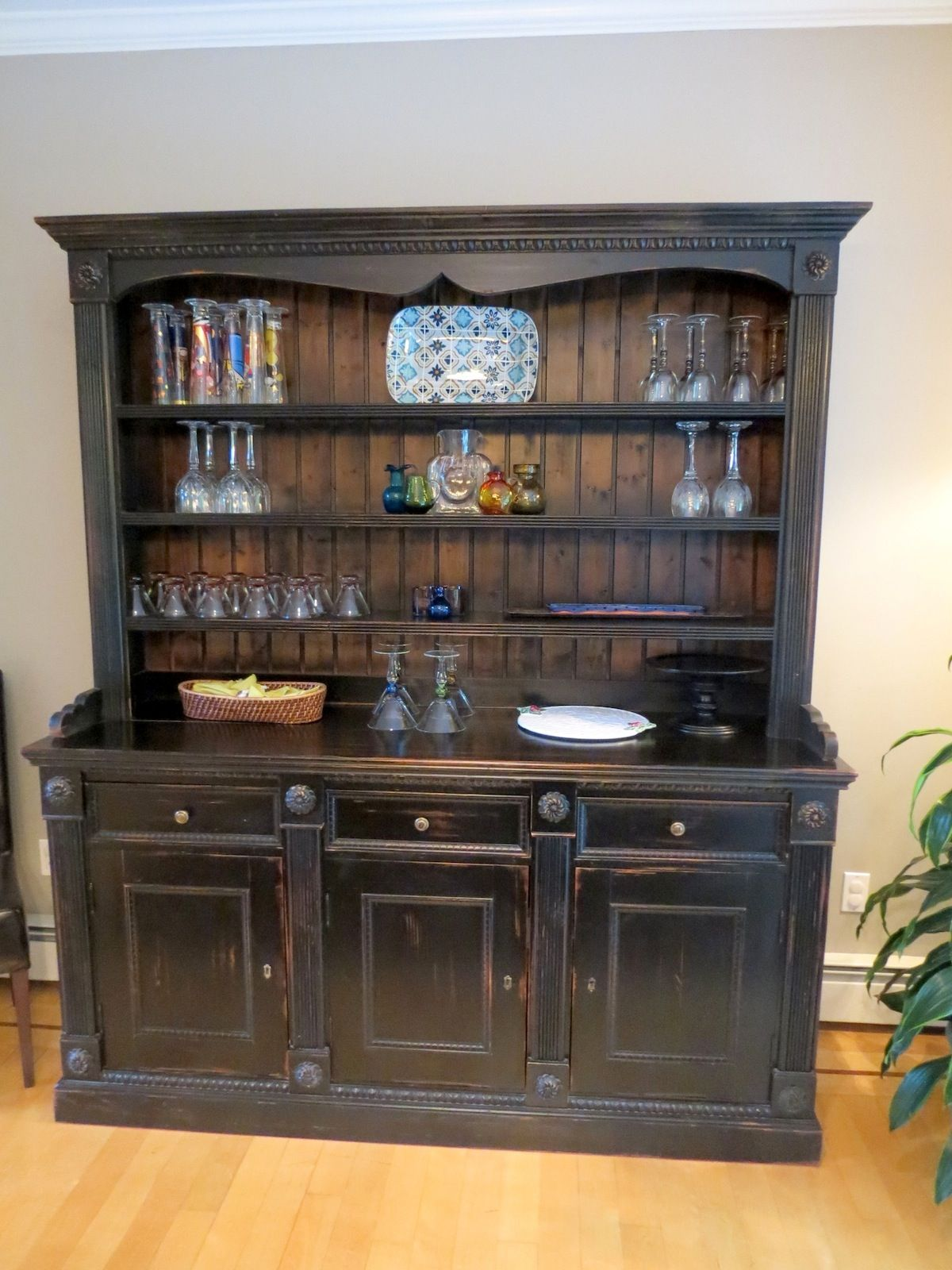 bethlehem glass door china tall rustic wood display reclaimed product cabinet