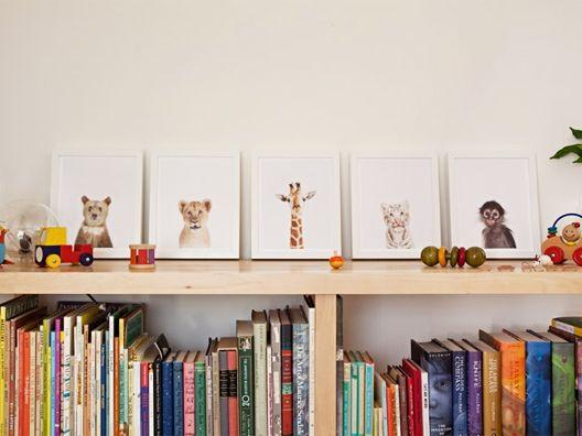 SHARON MONTROSE - baby giraffe print