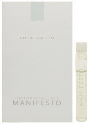 Manifesto By Isabella Rossellini for Women 0.05 oz 1.5 ml Eau De Toilette Splash New Vial (Sample) $0.79