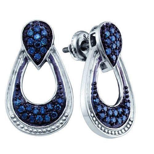 5/8CTW-Diamond FASHION EARRINGS