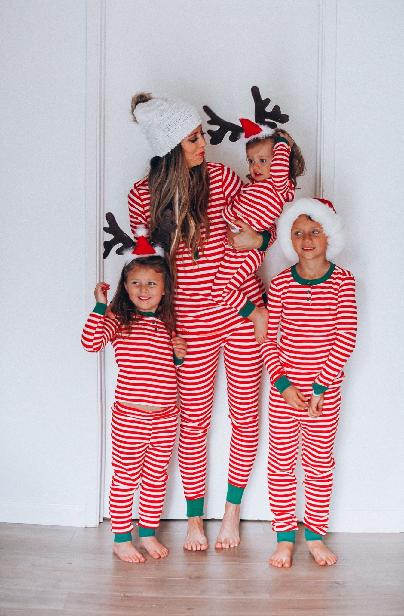 My Favorite Christmas Pajamas! Matching PJs Family