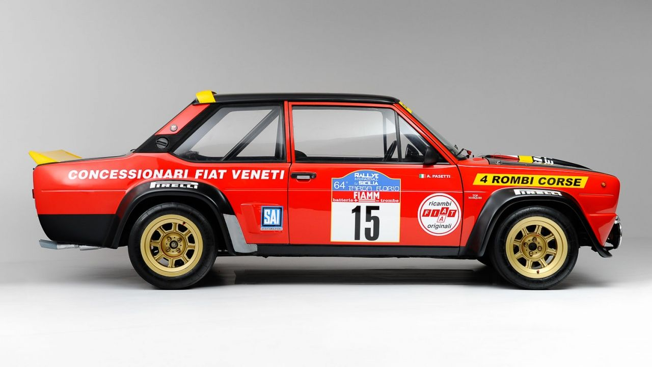 1977 Fiat 131 Abarth Gr 4 Classic Driver Market Con Immagini