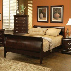 Wildon Home Oak Ridge Bed In Cappuccino For The Home Pinterest - Oakridge bedroom furniture