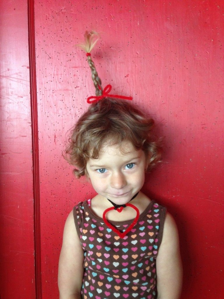 how-to hair girl   cindy lou who??? pipe cleaner braids #diyhair