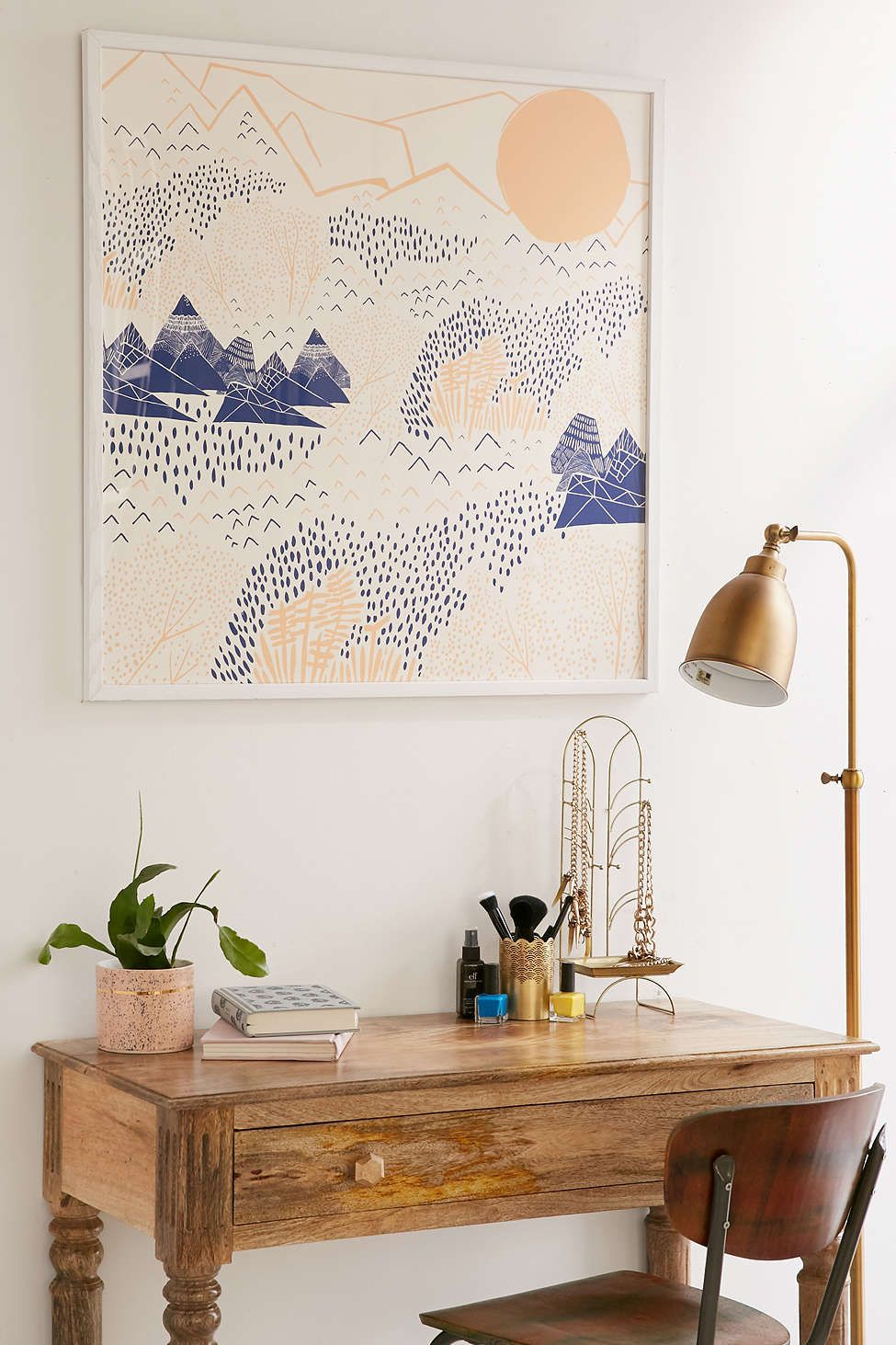 Leah Duncan Mountain Blossom Art Print. I want a little writing space like this.