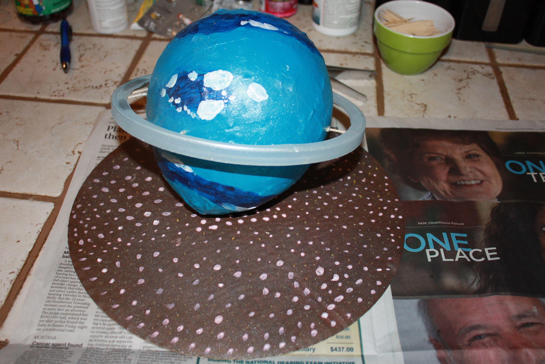 Neptune Science Project Paper Mache