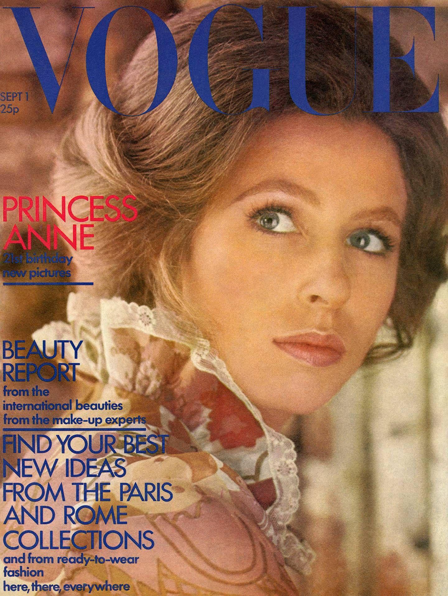 Британские королевские особы, которые снялись на обложке Vogue