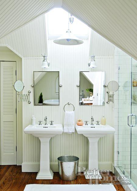 Perfect idea for the boys loft bathroom