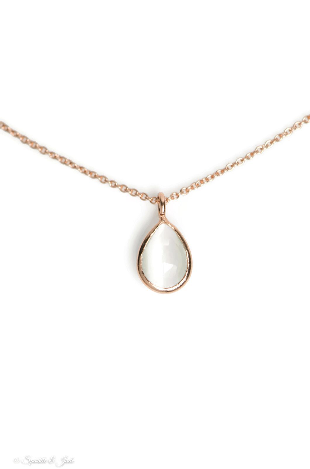 pav products reyter necklace adina pave teardrop open mxd