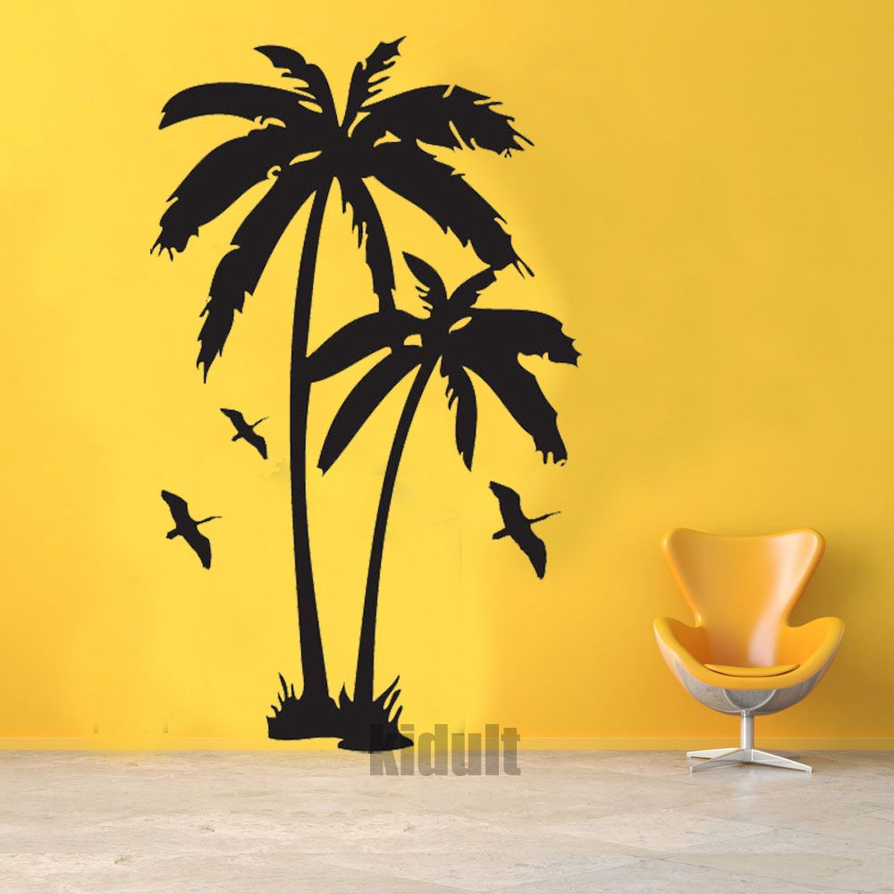 Hot & Home Decor Wall Sticker Creative landscape design and plant ...