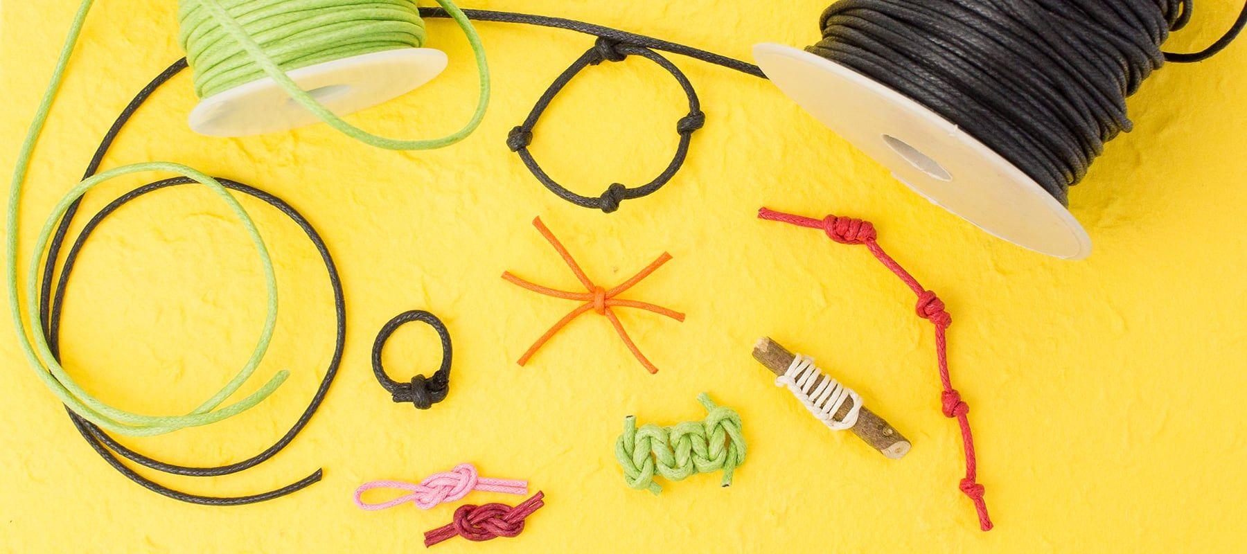 Knotenmagie Und Knotenzauber Mit 8 Knoten Ideen Magie Knoten