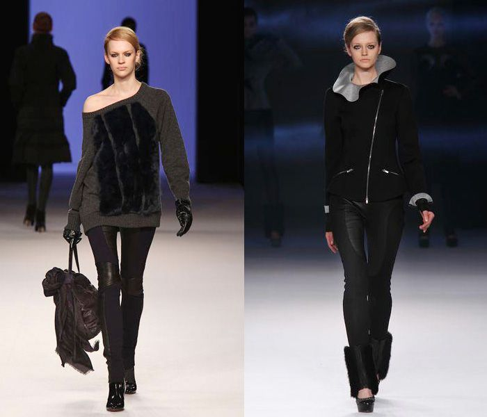(7) TAE ASHIDA - Mercedes-Benz Fashion Week Tokyo: Japan Fashion Week: Denim & Jeanswear 2013-2014 Fall Winter Womens Runways I