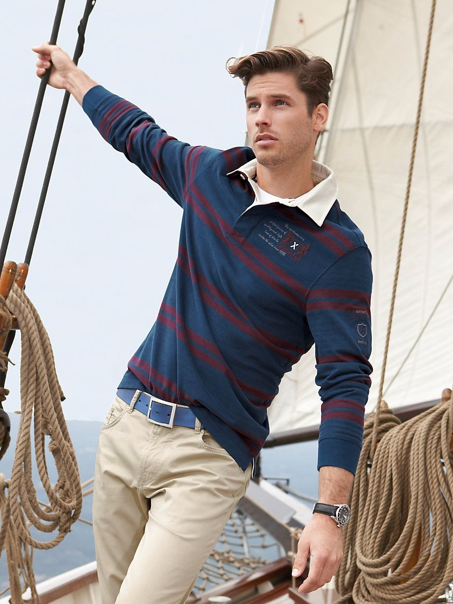 Brax spring casual  menswear OK the boat is a but much d2bad2a2521