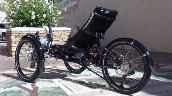 Full Suspension Adventure RS: Custom ICE Adventure RS from Utah Trikes #recumbent #trikes #utahtrikes