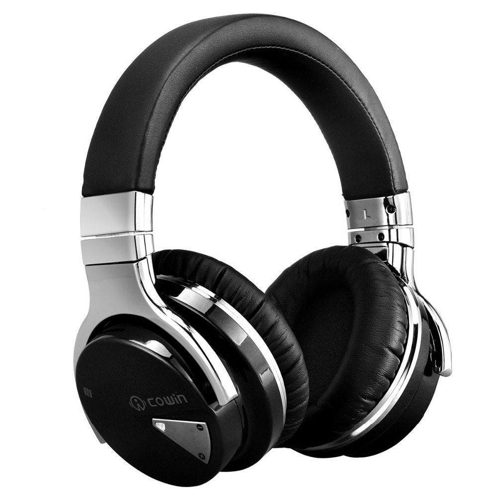 Brands Shopping Cowin High Quality Wireless Headphones Bluetooth Headset With Microphone Nfc Wireless E Headphones Noise Cancelling Headset Wireless Headphones