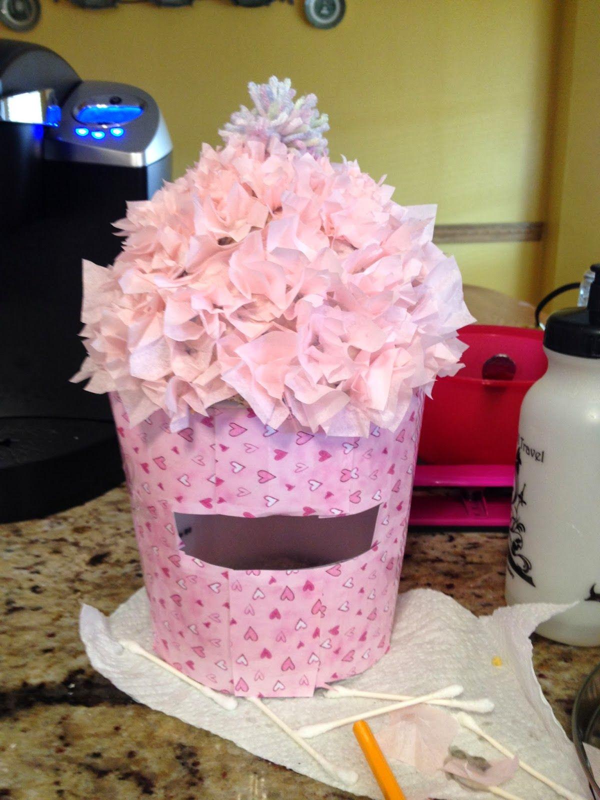 the family revised valentine boxes valentines pinterest box - Cupcake Valentine Box