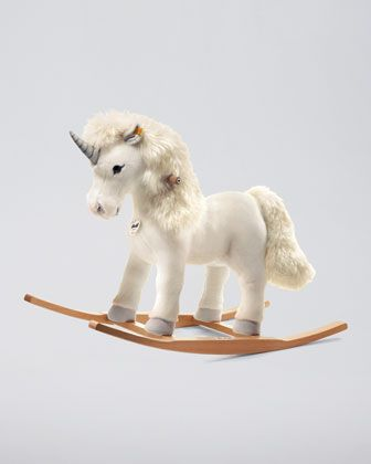 "Steiff Starly Riding Unicorn, 28"" - Neiman Marcus"