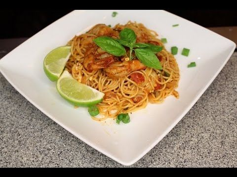 Tomato Lime Shrimp Pasta (Saturday Meal) (Legacy) How - To - Make - YouTube