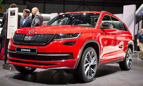 skoda kodiaq sportline 2017 preis motoren pinterest cars. Black Bedroom Furniture Sets. Home Design Ideas