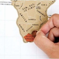 The Scratch Map Is A World Map With A Twistsimply Scratch Off The - World map to mark your travels