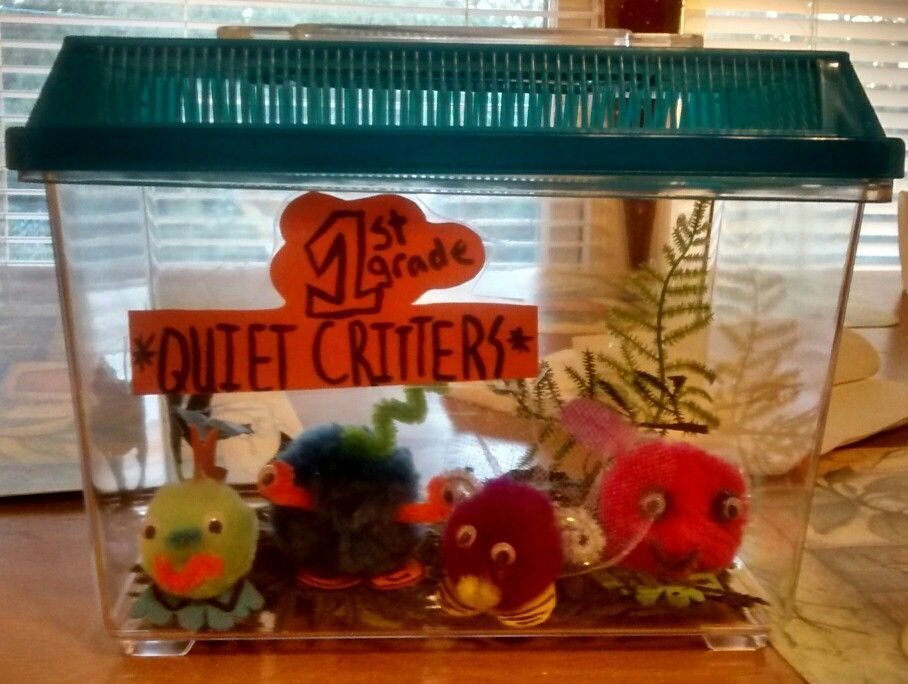 Quiet pets for my first grade classroom. These pets love being held, but only when students are quiet and on task. They also love when the kids are so good that they can add a bed or a picture to their home cage. My students had so much fun taking care of their quiet critters this year. #quietcritters Quiet pets for my first grade classroom. These pets love being held, but only when students are quiet and on task. They also love when the kids are so good that they can add a bed or a picture to t #quietcritters