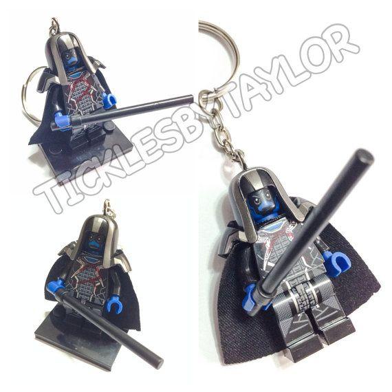 BOGO Buy 1 Get 1 Promo! Lego® Guardians of the Galaxy RONAN Keychain, Lego Ronan the Accuser Keychain, FREE Lego® Minifigure Keychain Gift on Etsy, $12.00