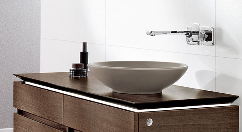 Villeroy & Boch waskom Loop & Friends Timber - Product in beeld ...