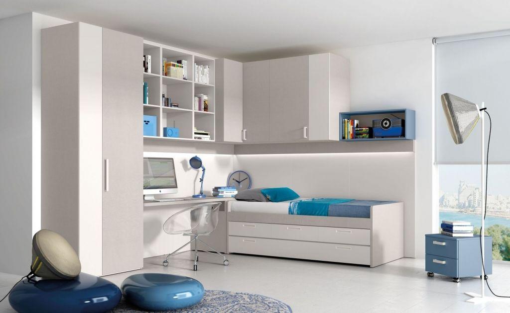 Jeugdkamer nardi hoogslaper halfhoogslaper nardiinterni italiaanse design tienerkamer de - Tiener meisje mezzanine slaapkamer ...