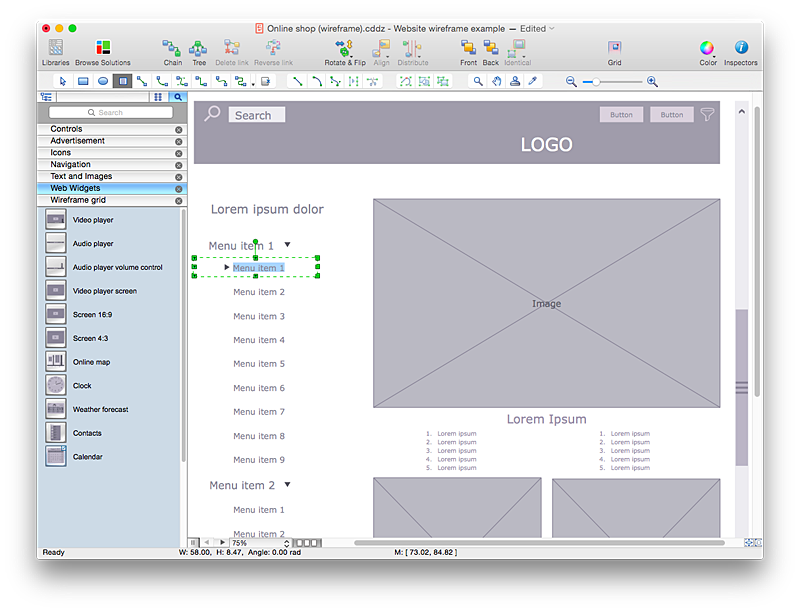 pin by cristhian rodrguez on wireframes pinterest - Website Wireframe Tool Online