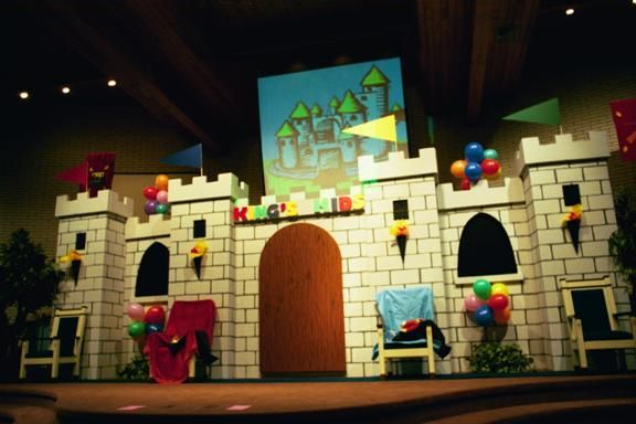 vbs castle set idea!!! really like this one. | vbs 2013