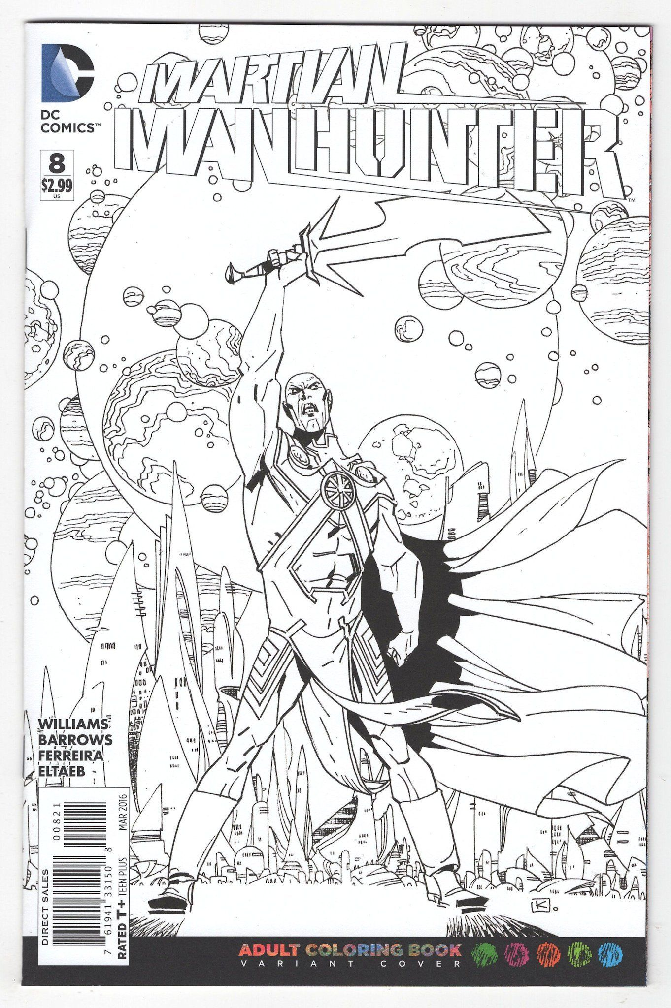 Martian Manhunter #8 Andy Kuhn Variant Cover (2016) | Products ...