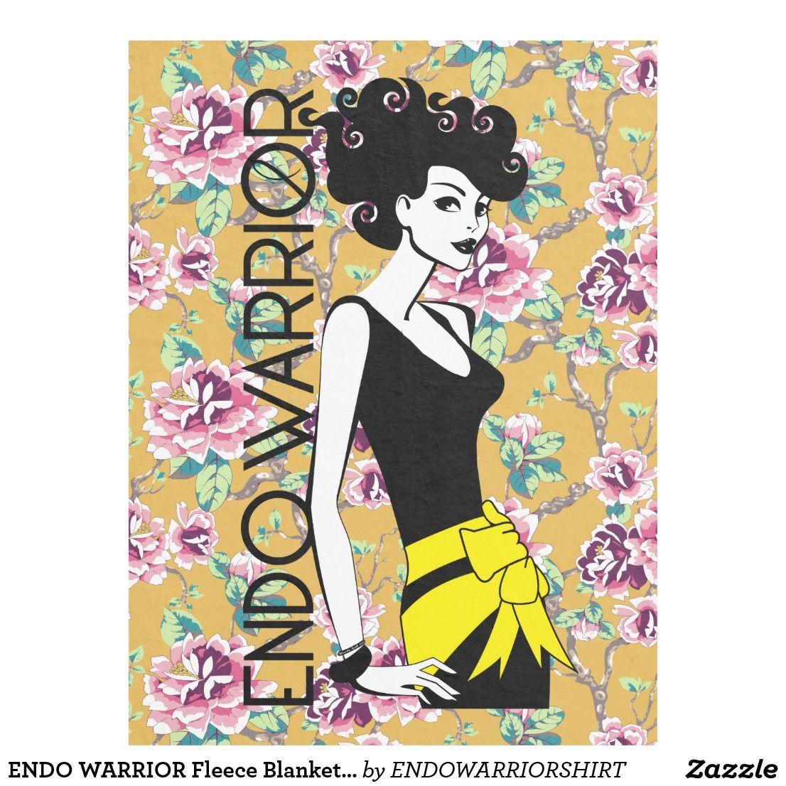 "ENDO WARRIOR Fleece Blanket, 60""x80"""
