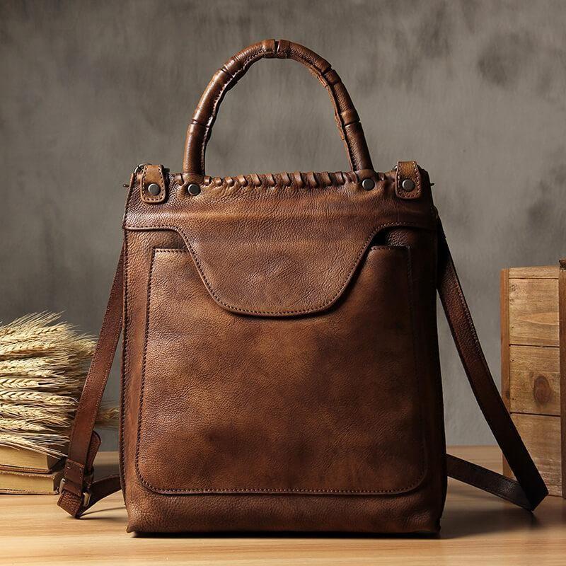b9920ca641 Vintage Leather Crossbody Bag