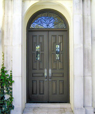 Country French Exterior Wood Entry Door Style DbyD-2126   Doors ...